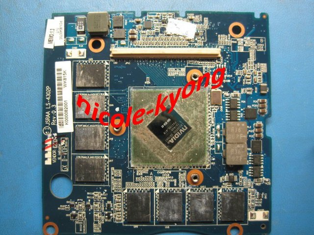 G94-650-A1 512M LS-4302P JSRAA Graphic VIDEO VGA  Card K000082001 K000064080 K000054850 for toshiba X305
