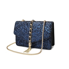 New Arrival Women All-match Bag PU Leather Sequins shoulder bag hand bag Girls Small Travel Princess Bling(China (Mainland))
