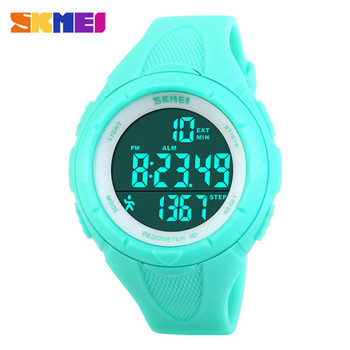 2016 New Casual Women's Watch Fashion Pedometer Digital Fitness For Men Women Outdoor Wristwatches Skmei Sports Watches Relojes