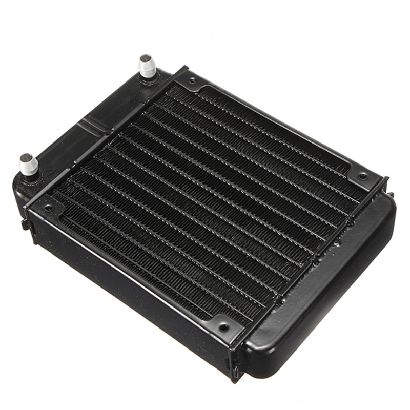 120mm Aluminum Heat Exchanger Radiator Water Cooling Radiator Heatsink Computer Cooler for CPU GPU VGA RAM CO2 Laser System(China (Mainland))