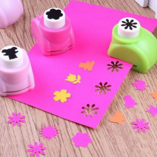DIY Paper Punch Cutter Kid Child Mini Printing Hand Shaper Scrapbook Tags Cards Craft Tool 1 PCS(China (Mainland))