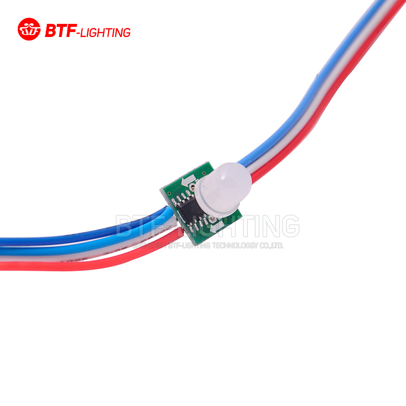 50x Square T1515 WS2811 LED Pixel Node String Non-waterproof Addrssable Color 5V LED Module(China (Mainland))