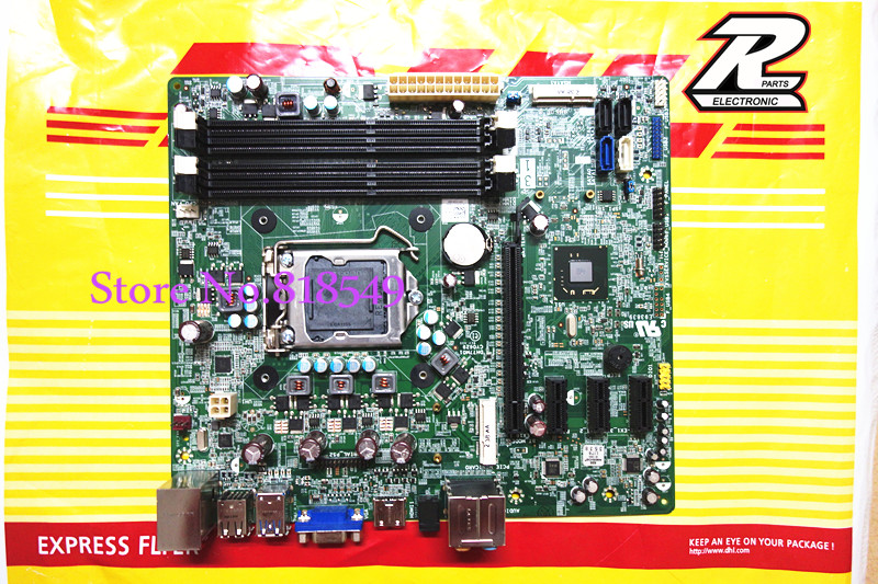 Free shipping, original XPS 8500 Vostro 470 system Motherboard For Dell DH77M01 YJPT1 0YJPT1 LGA1155 chipset H77, work perfect(China (Mainland))