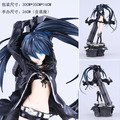 26cm Black Rock Shooter Action Figures PVC brinquedos Collection Figures toys for christmas gift B083