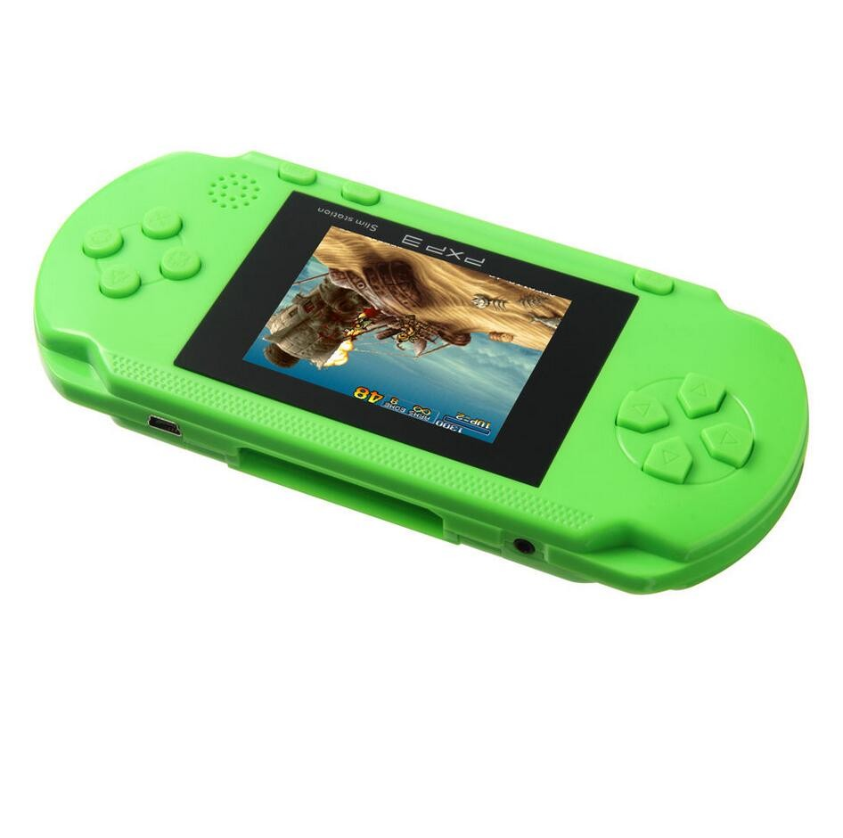 PXP3 Game Console Handheld Protable Video Game Console 16bit Retro Game Player(China (Mainland))
