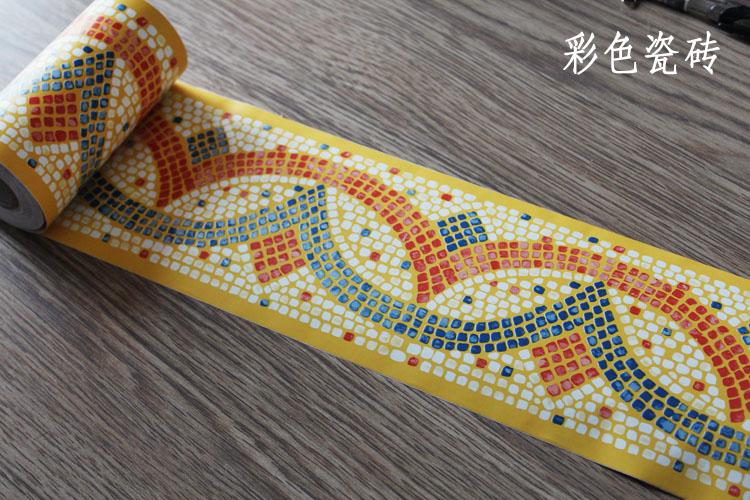 Selbstklebende Tapeten K?che : Online Kaufen Gro?handel tapete grenze papier aus China tapete grenze