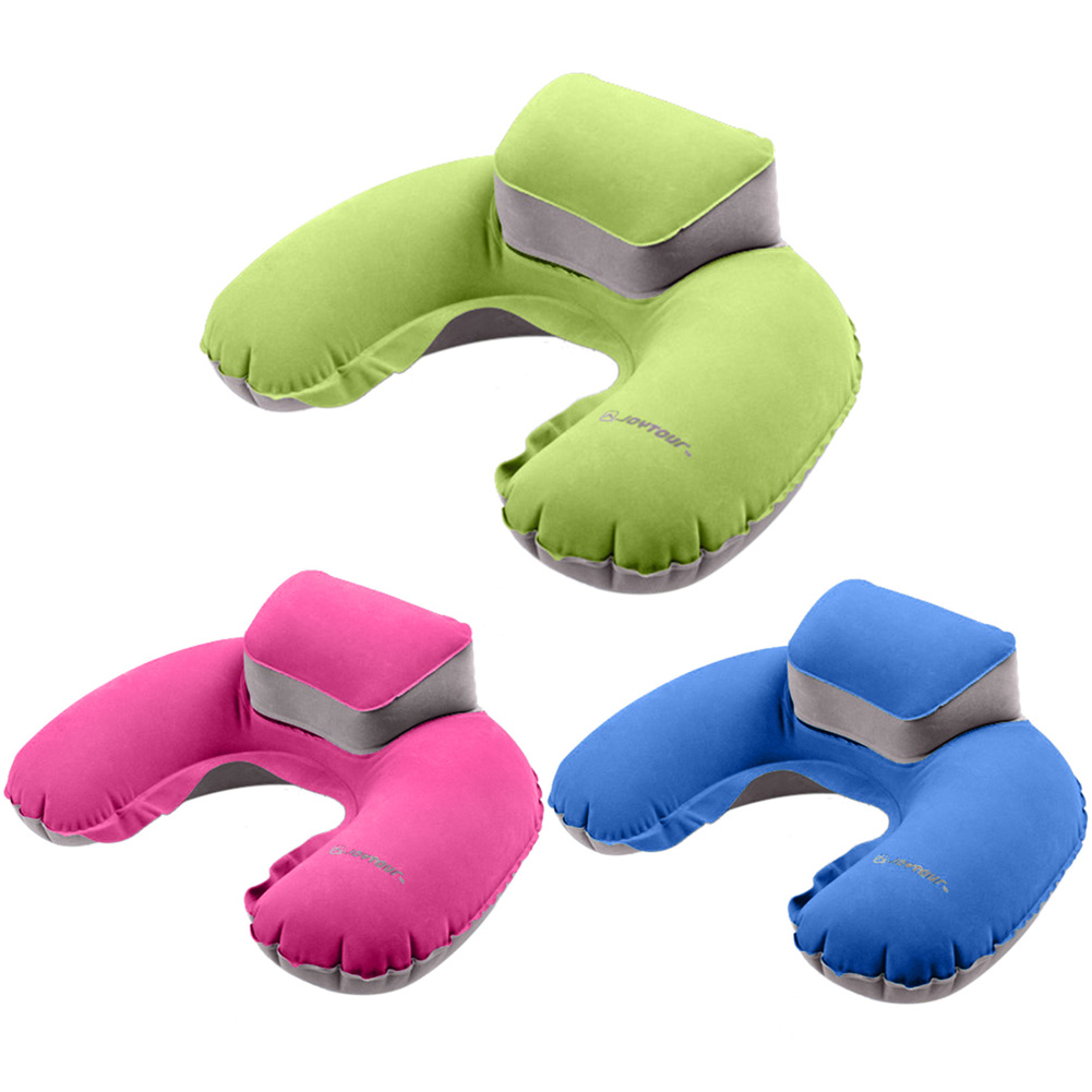 Air Blow Up Pillow Inflatable U Shape Pillow Cushion Soft PVC Washable Neck Pillow For Office/Outdoor/Flight Rest(China (Mainland))