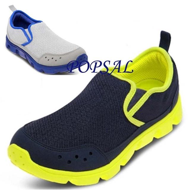 2015 новых людей обувь дуэт Slip on сабо свободного покроя обувь отдых расслабленной ...