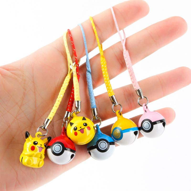 New Pokemon Go Pikachu Phone Lanyard Strap For Smartphone/Rucksack Phone Hanging Pendant Gifts(China (Mainland))