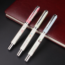 Buy 3 color selection/High Cheap Price Arrow Clip EF Nib Ink/Brand/Fountain Pen Metal Gift Pens Writing Stationery for $2.00 in AliExpress store
