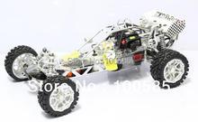 km 30.5cc motore a 4 bolt baja 5b + acciaio della gabbia del rullo + dragonfly tunepipe + cnc ruote + molti cnc aggiornamento parti + 2.4 g 3ch radio rtr(China (Mainland))