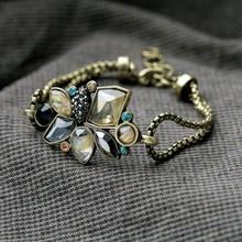 Fashion  accessories vintage brief flower summer all-match bracelet(China (Mainland))