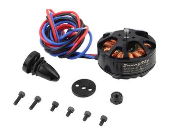 Brushless Motor pk Sunnysky x4110s 340kv 400kv 460kv 580kv 680kv Outrunner Motor for rc Multi-rotor (4S, power oriented)