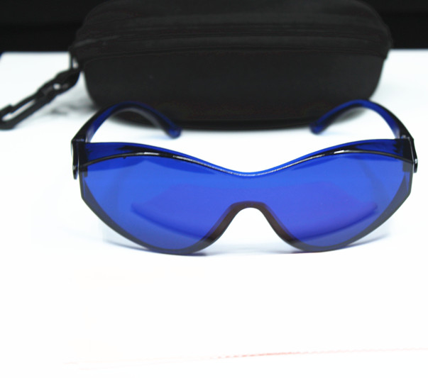 new IPL beauty protective glasses red Laser hoton Color light Safety goggles 200-1200nm wide spectrum of continuous absorption(China (Mainland))