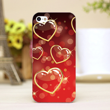 PZ0004-4-21 Valentine Design Customized cellphone transparent case cover for iphone cases for iphone 4 5 5c 5s 6 6plus