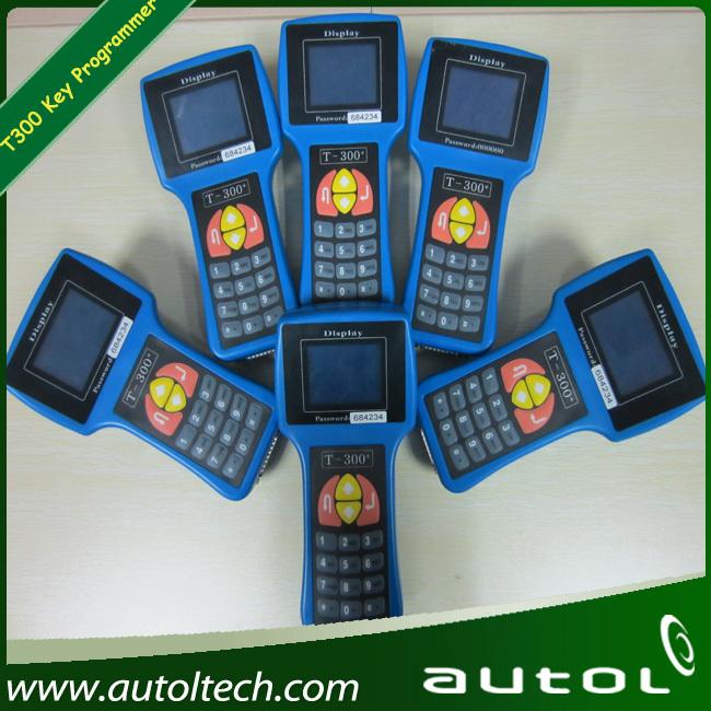 2012 Latest Version V2013 T300 Key Programmer T Code Car Key Programmer T300 Supprot English And Spanish(China (Mainland))