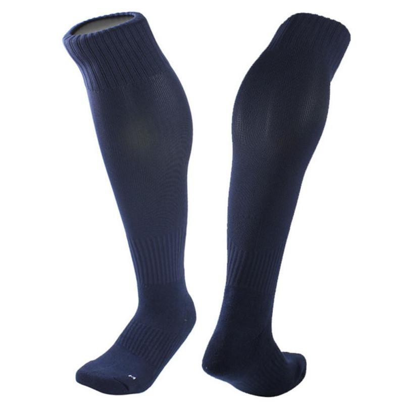 Durable Fashion socks men 1Pair Cotton Yarn And Nylon blend Stockings Football Socks Solid Color Optional(China (Mainland))