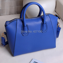 Free Shipping Women Handbag Fashion Shoulder Bags Tote Purse Frosted PU Leather Bag   #gib