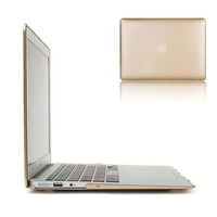 Champagne Gold Sleeves Cover Shell For MacBook Air 11 13 Inch Laptop Protector Bag Cases For Mac Book Air Case Free Shipping