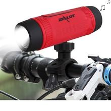 Zealot S1 Bluetooth powerbank Speaker 4000mah LED light for Outdoor Sport and 3IN 1 function MP3 player(China (Mainland))