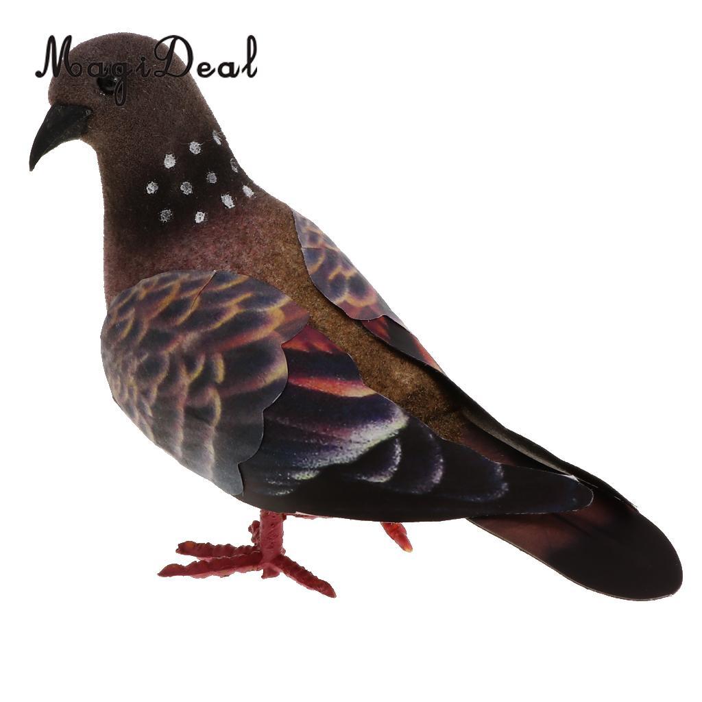 Taube künstliche Tauben Simulation Ornamente dekorative Feder Vögel Modell