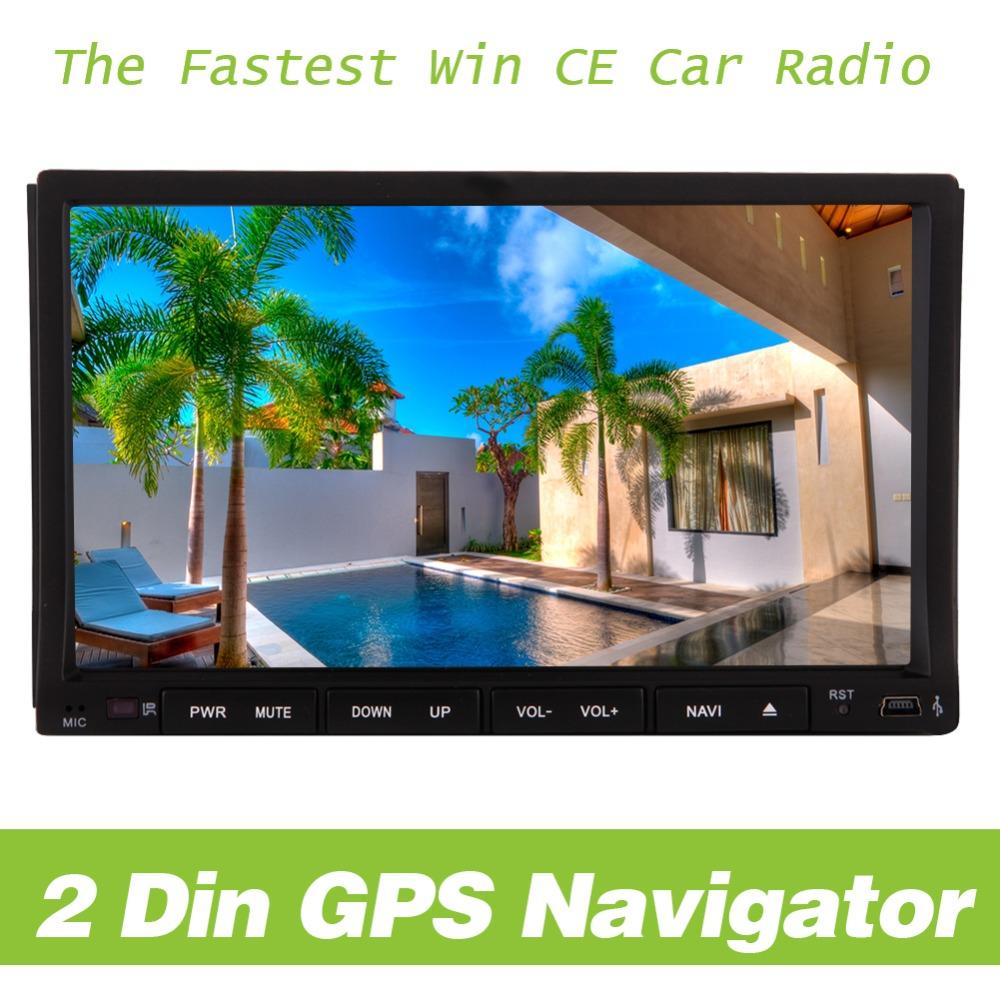 7-дюймовый HD цифровой Сенсорный 2DIN Автомобильный DVD-плеер GPS Bluetooth в тире автомобиля stereoFM утра автомобиль Радио iPod PUPUG продвижения авто