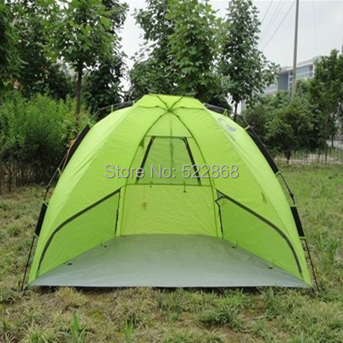XIAO super cheap beach tent fishing tent speed automatic open tent 2-3 person tent for outdoor recreation