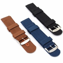 18/20/22/24mm Militray Sport Nylon Canvas Wrist Watch Band Replacement Strap Hot Selling & Wholesale
