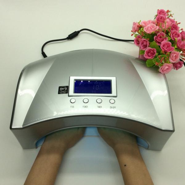 Free Shipping 2015 popular nail salon equipment 2 hands and 2 feet auto 66w ccfl led nail gel uv lamp Lamp(China (Mainland))