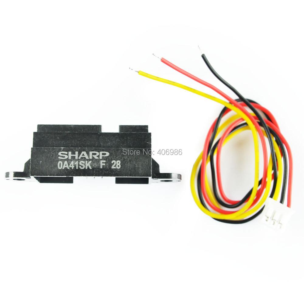 Гаджет  Infrared Distance Sensor - Sharp GP2Y0A41SK0F 4-30cm FZ0579  Free Shipping  Dropshipping None Электронные компоненты и материалы