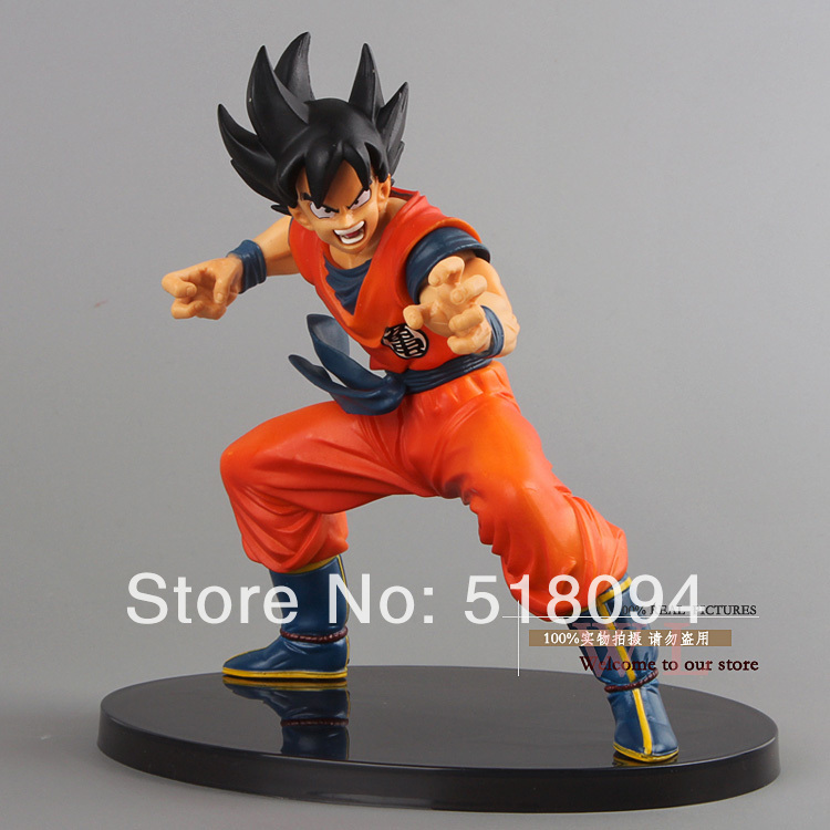 """Free Shipping Dragon Ball Z Figures The Monkey King Goku PVC Action Figure Collection Model Toy 6""""15CM DBFG053(China (Mainland))"""
