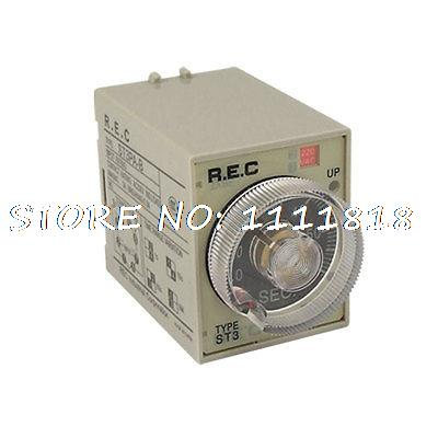 Реле st3pa/a 0/60 60s 220V 8 Pin Hnmut hot sale prdl18 7dn lengthen type