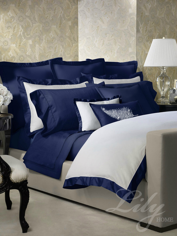 4pc/6pc/10pc Blue bedding set home textile bed sheet luxury comforter bedding sets king queen size bed cover(China (Mainland))