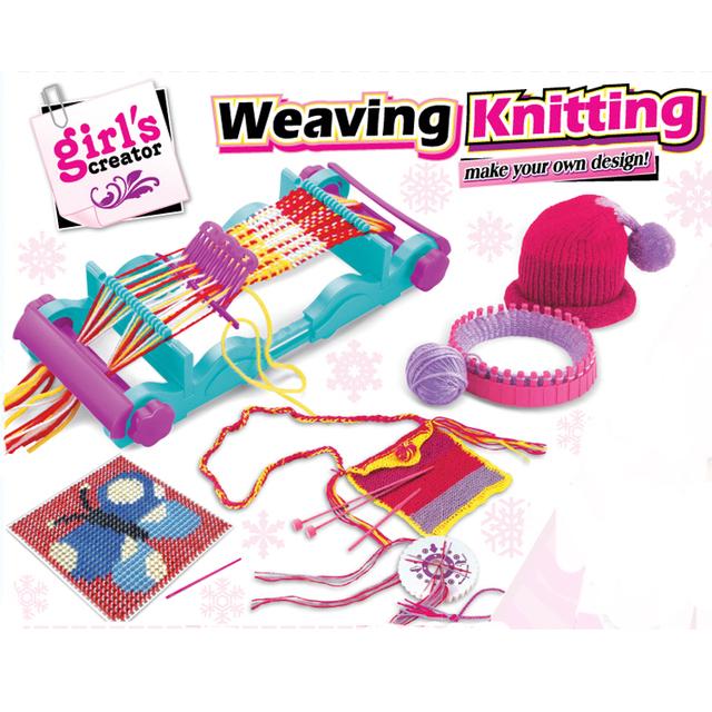 Loom Knitting For Kids : New knitting weaving fashion creator kids knit weave