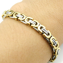 Free Shipping Men's 316L Stainless Steel Bracelet Wristband Lover Friend Hand Chain JEWELRY Wholesale Fashion High Quality BB341
