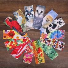 Harajuku Cute Short Socks Women 3D Print Animal Sock Casual Unisex Cartoon Low Cut Ankle Socks Calcetines Mujer E10086
