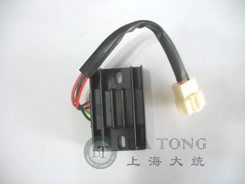 4 Line Pins 12V Voltage Regulator Rectifier For Chinese Scooter 4 stroke font b GY6 b
