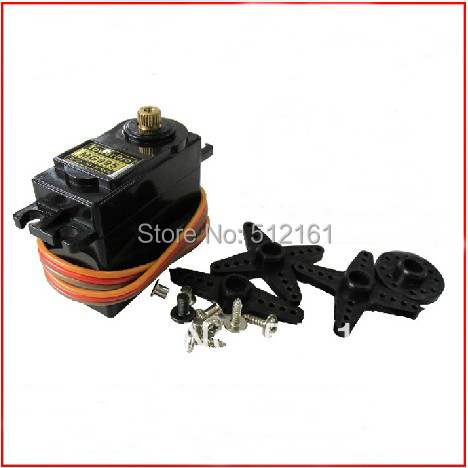 55 g Metal Gear Servos MG995 Upgraded version MG996R 360 degree continuous rotation for DIY Android Robot