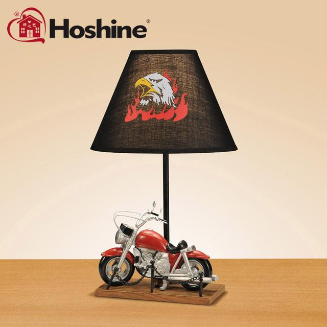 Hoshine marca novedad hecha a mano de motor fresco de moda lámpara ...