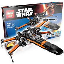 79209 05004 Star Wars X Wings Fighter Assembled Fighter 748 Pcs Compatible with LEGO Star Wars Building Blocks toys LEPIN/LELE