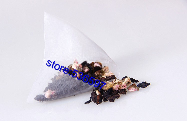 peach flower+taiwang oolong herb tea health beauty organic natural flower Triangle tea bags 6 kinds of  taste free shipping