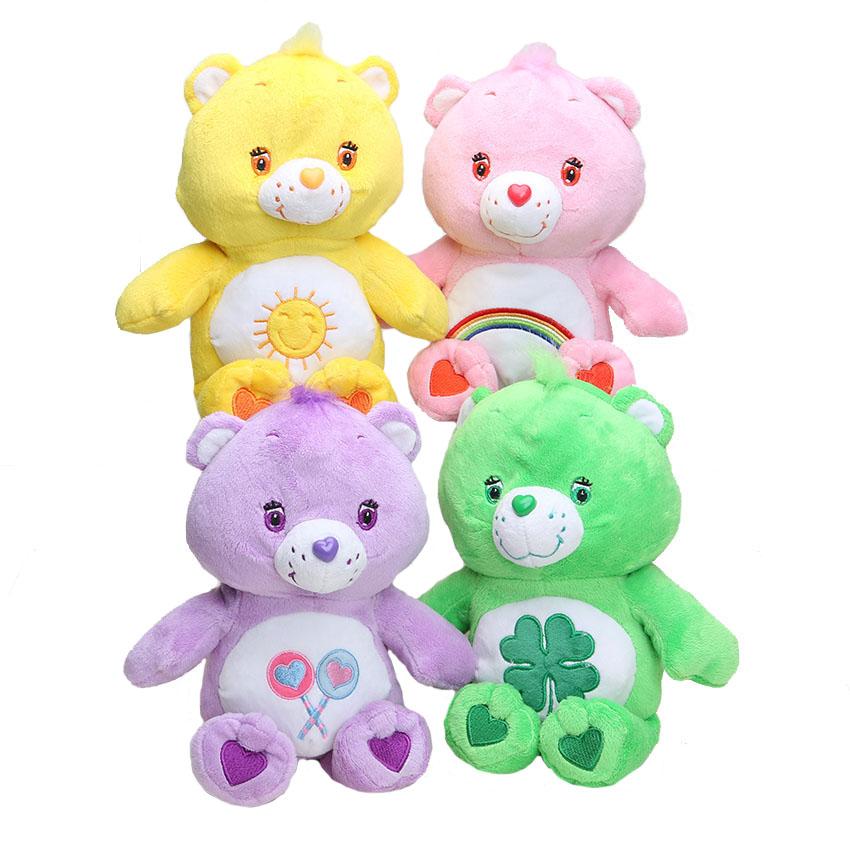 care bears 30cm/11.8inch Japanese care bears Soft Plush doll toy Stuffed Animal Teddy bears doll birthday gift retail(China (Mainland))