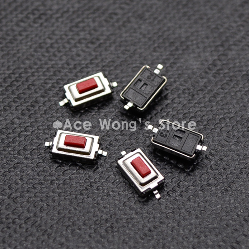 100PCS/Lot 3*6*2.5MM 3X6X2.5MM Tactile Tact Push Red Button Micro Switch Momentary(China (Mainland))