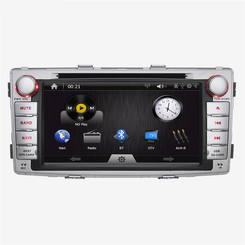 Brand New 7inch 2 din Car PC Wince 6.0 for Toyota Hilux 2012 with GPS BT FM AM RDS 1080P Car DVD Multimedia Player(China (Mainland))