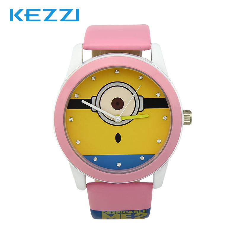Hongkong KEZZI fashion cute cartoon belt quartz waterproof new boys and girls watch factory direct sales<br><br>Aliexpress
