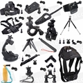 ALL IN 1 Accessory Head Chest Stick Tripod Kit for Sony HDR AS15 AS20 AS30V AS100V