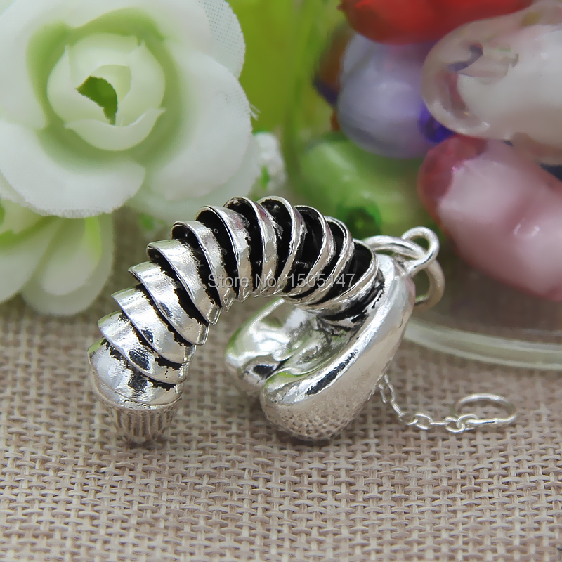 925 sterling silver penis can pull the erect penis necklace pendant hanging pendant <br><br>Aliexpress