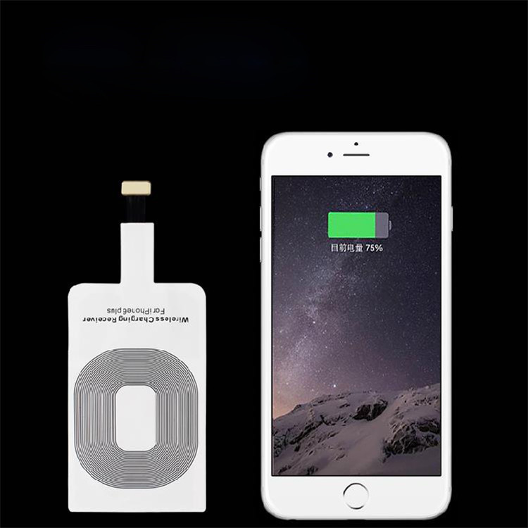 Гаджет  2015 Portable Qi Standard Smart Wireless Charging Coil Receiver For iPhone 6 Plus Free Shipping None Телефоны и Телекоммуникации