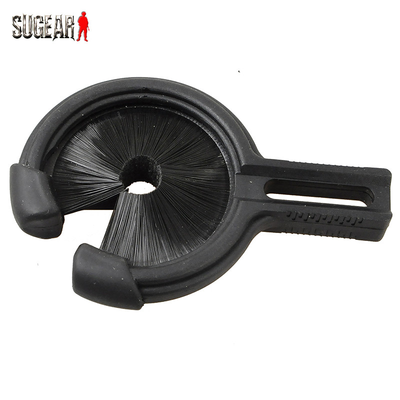 High quality Black Medium Size Rated 5 0 Bow Arrow Rest Whisker Biscuit Arrow Replacement Brush