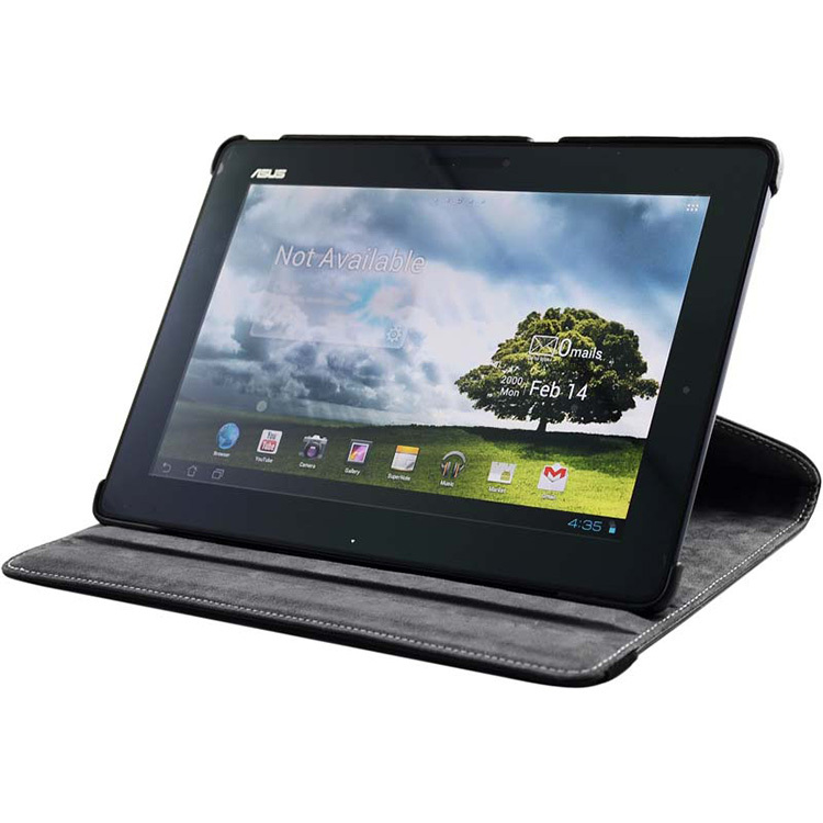 360 Degree Rotating Stand Leather Case For Asus Eee Pad Transformer TF101 Prime TF201 TF300 TF301 TF300T Infinity TF700T TF700(China (Mainland))